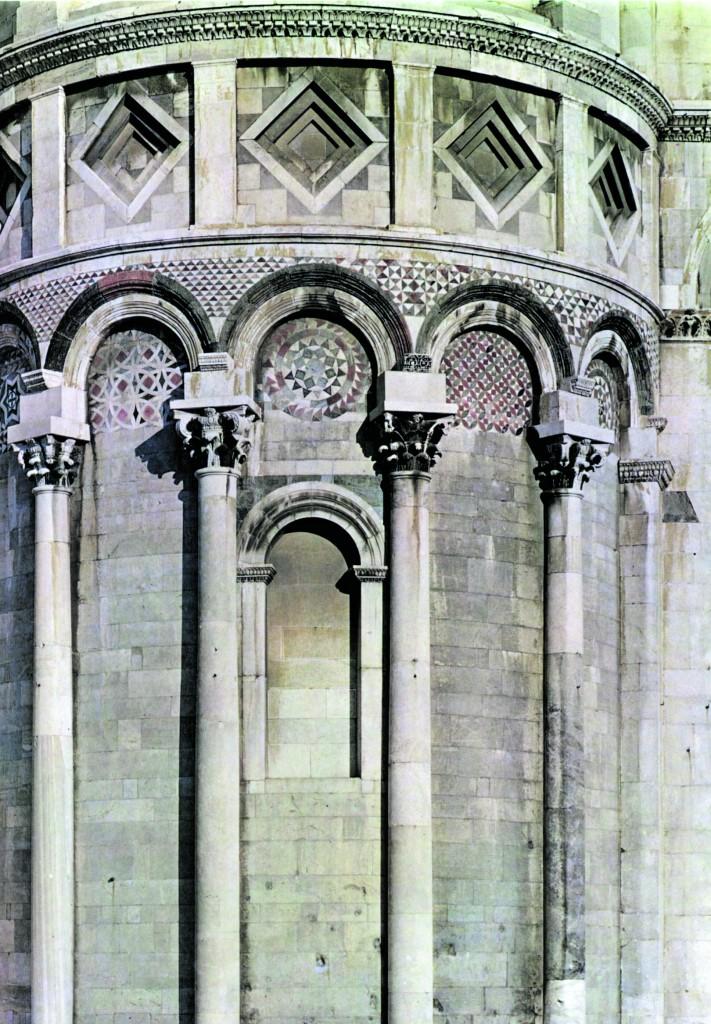 Duomo di Pisa, particolare dell'abside del transetto