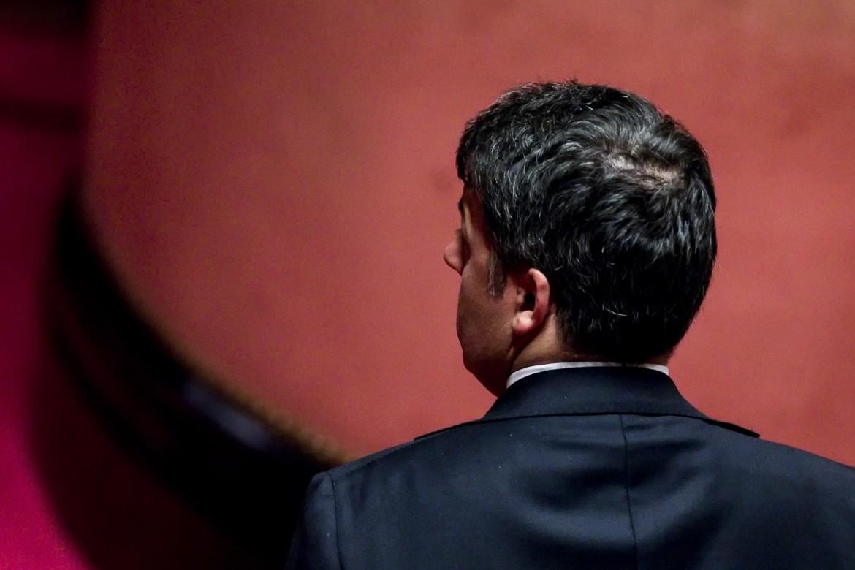 Renzi ieri al senato