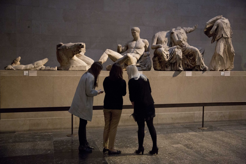 Il frontone orientale del Partenone conservato al British Museum di Londra