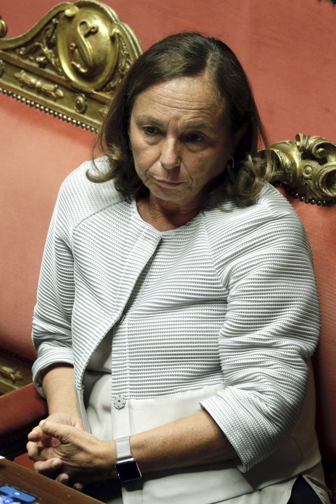 La ministra dell'Interno Luciana Lamorgese