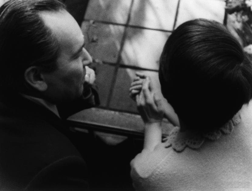 Un fotogramma dal film di Raul Ruiz, «El tango del vitulo»