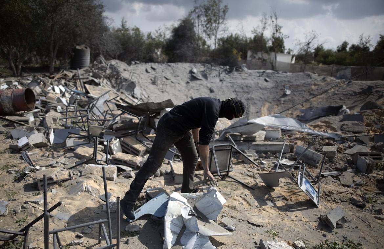 Gaza, dopo i bombardamenti israeliani
