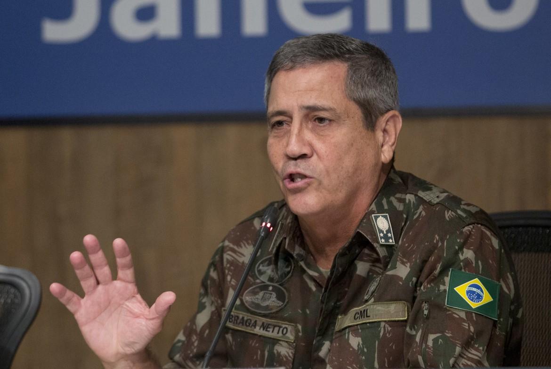 Il neo-ministro brasiliano Walter Braga Netto