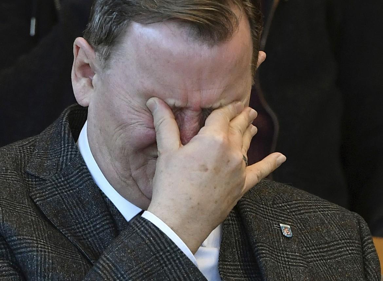 Bodo Ramelow, in basso Norbert Röttgen
