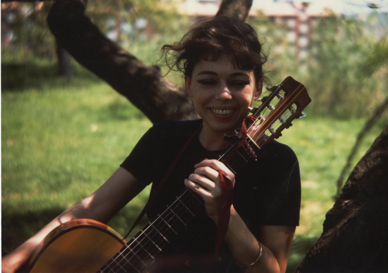 Un'immagine di Caterina Bueno tratta dal film-documentario «Caterina» di Francesco Corsi