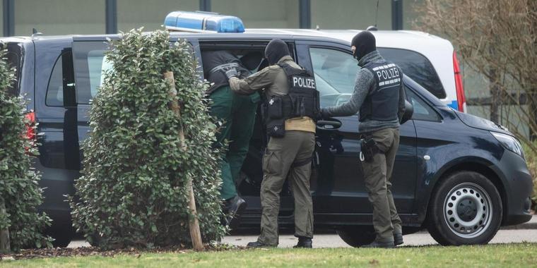 Gli arresti della polizia