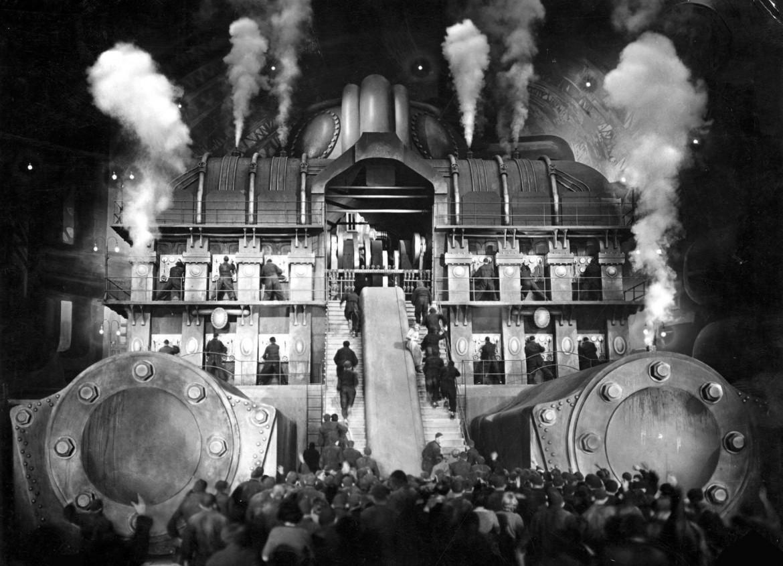 Da «Metropolis» di Fritz Lang, 1927