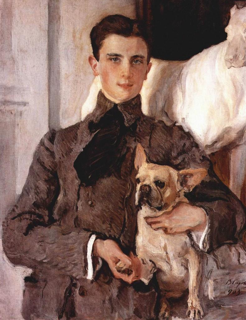 Valentin Serov, «Feliks Feliksovic Jusupov assassino di Rasputin», 1903