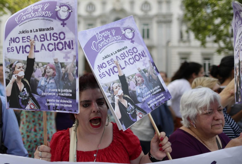 Madrid, protesta delle donne