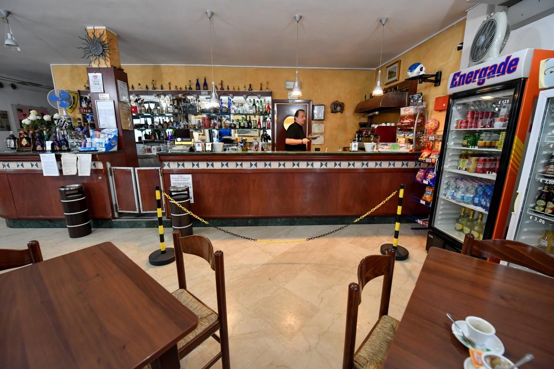 Il bar del comune di Orzinuovi in provincia di Brescia