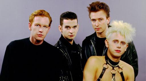 Depeche Mode in uno scatto anni '80