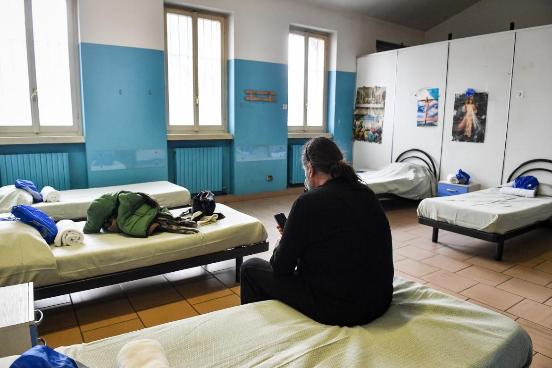 Un centro di accoglienza per richiedenti asilo