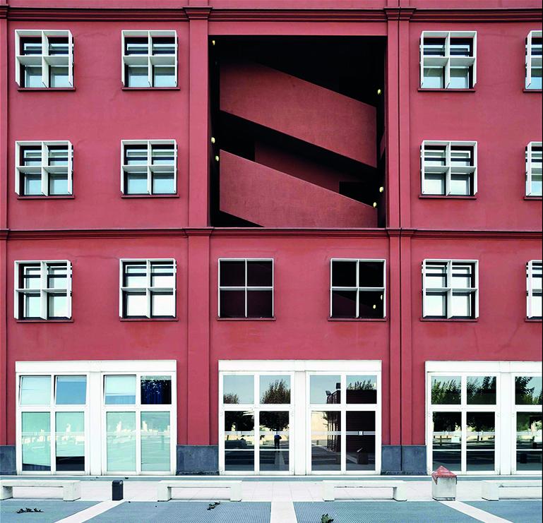 Gregotti Associati, Milano, Quartiere Bicocca, Dipartimenti scientifici Università degli Studi Milano-Bicocca (1994-99)