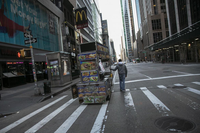 New York durante il lockdown