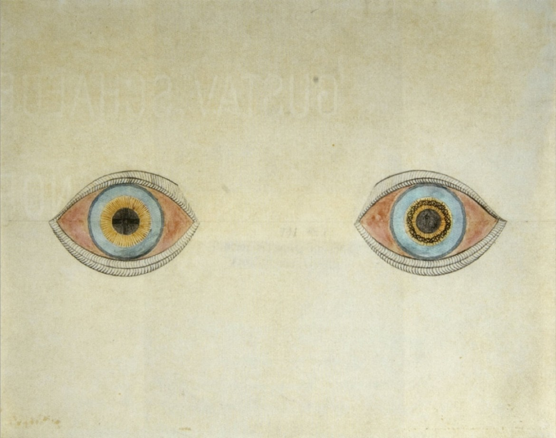 August Natterer, «I miei occhi al momento delle apparizioni», 1911-1913