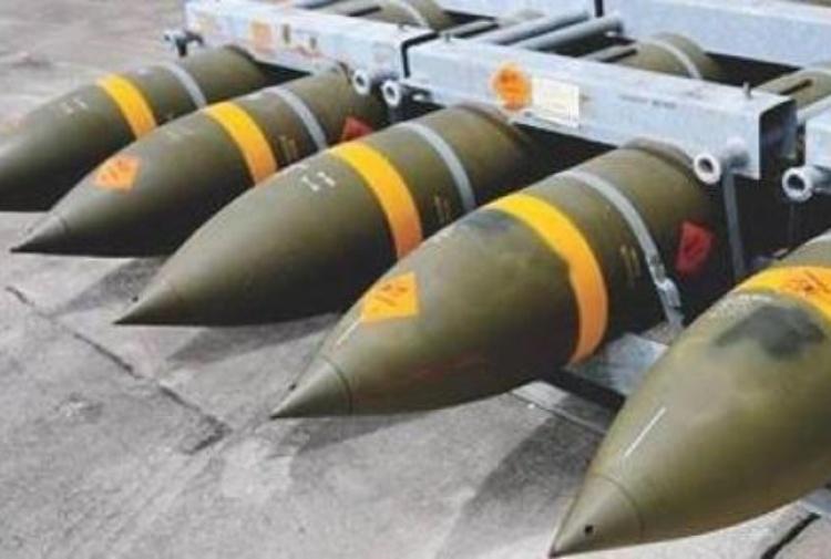 Bombe prodotte in Sardegna da Rwm