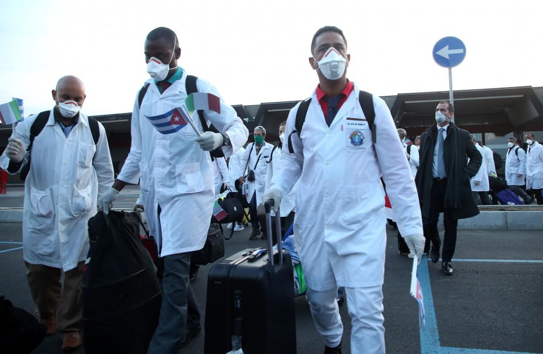 Delegazione medica cubana a Malpensa