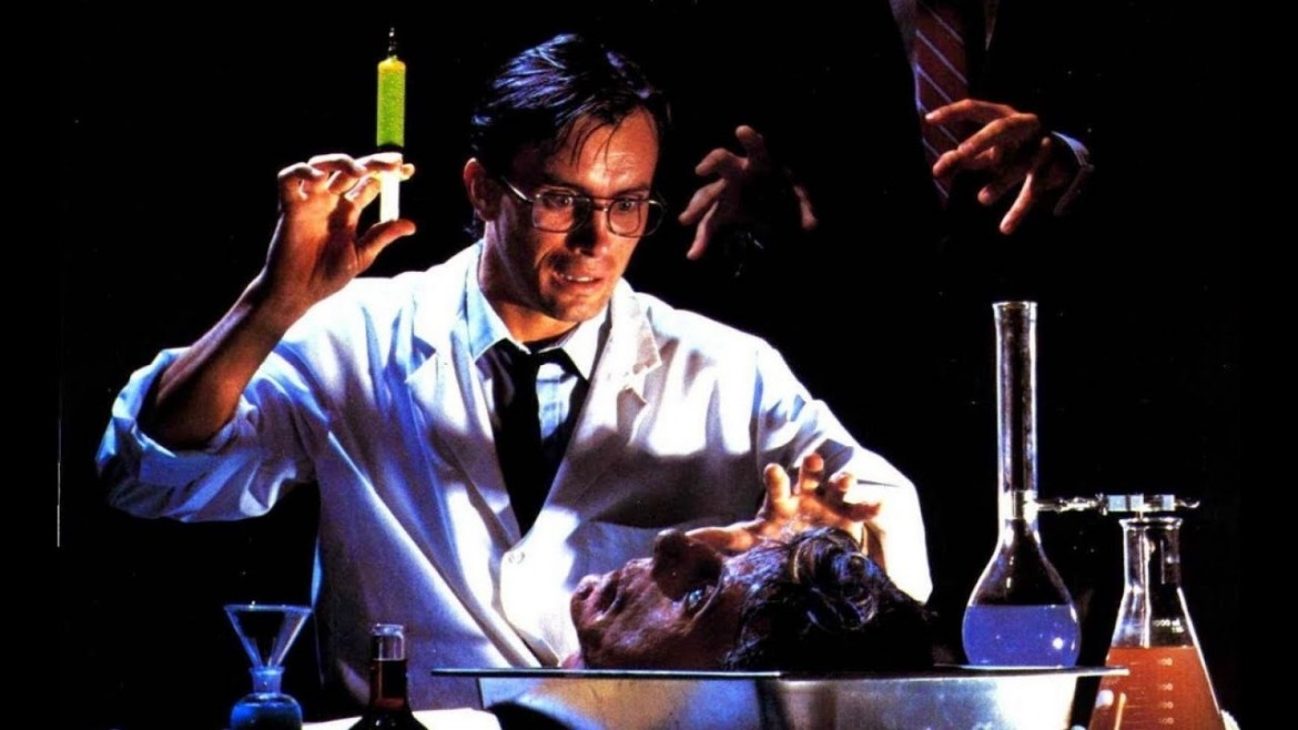 Jeffrey Combs in «Re-Animator»