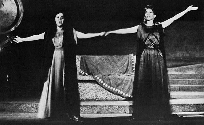 Maria Callas nella «Norma» a Epidauro