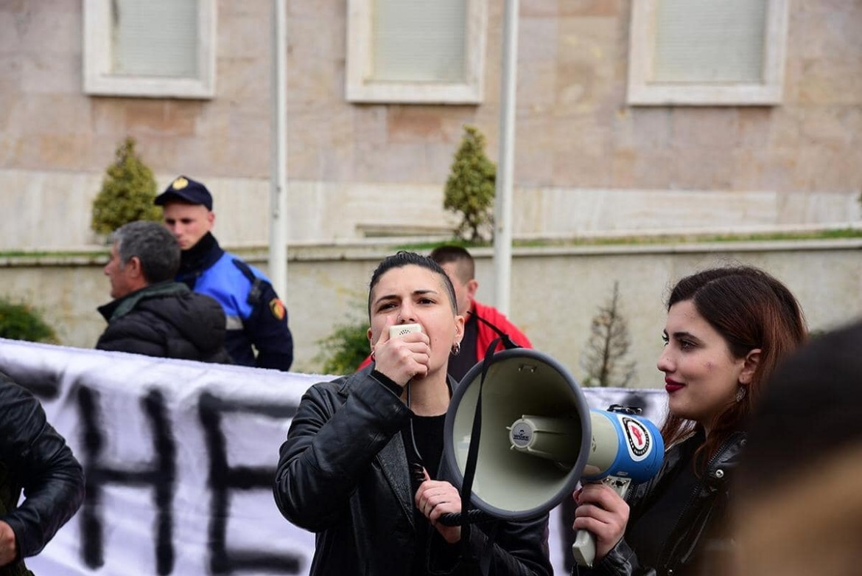 L'8 marzo a Tirana