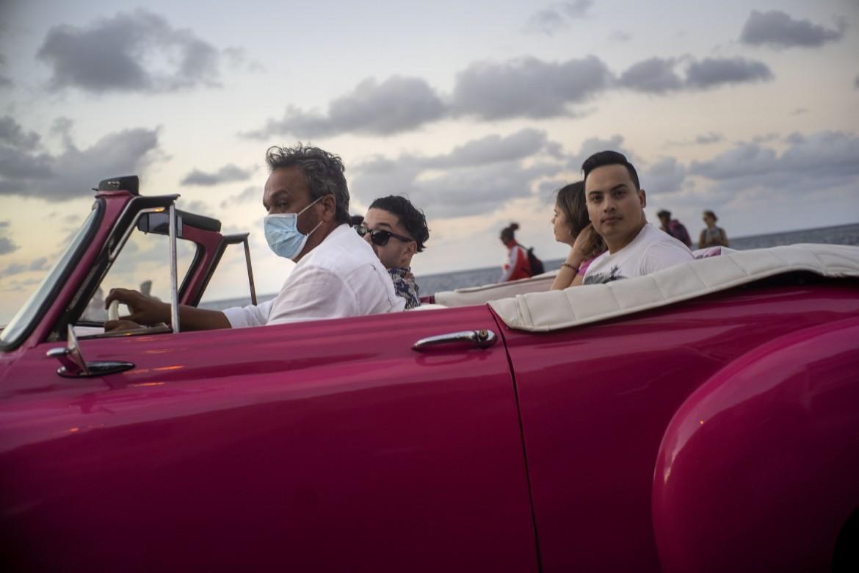 L'Avana, 13 marzo 2020. Trasporto turisti al tempo del coronavirus