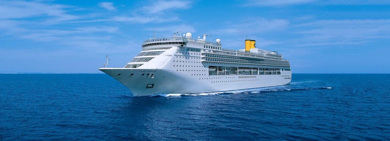 La nave Costa Victoria