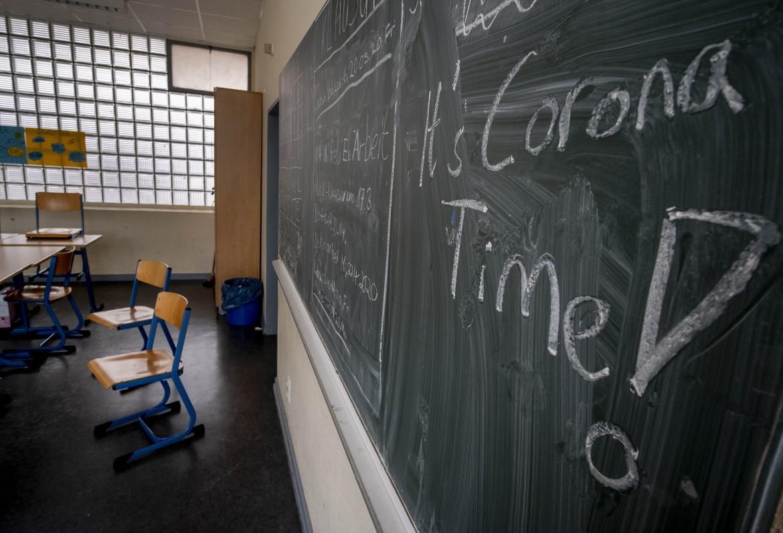 Scuola chiusa a Francoforte