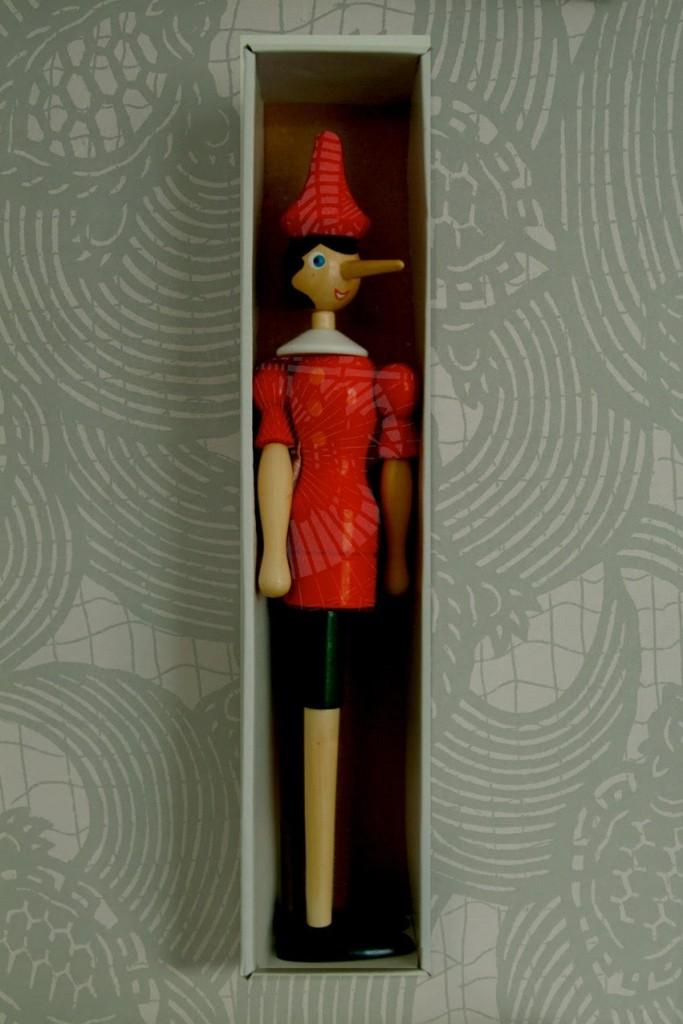 Franco Cenci, Pinocchio in scatola