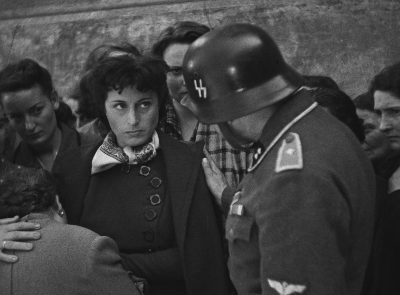 Anna Magnani in «Roma città aperta»