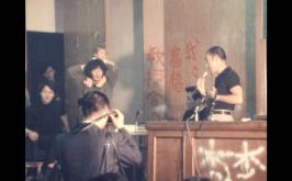Yukio Mishima e gli studenti in rivolta