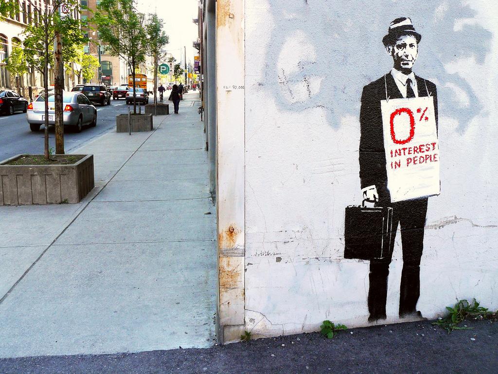 Murale di Banksy