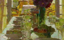 Carl Moll Sala da pranzo 1930
