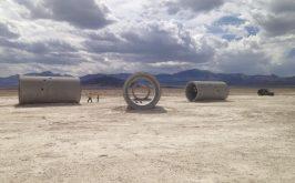 Nancy Holt Sun Tunnels 1973 76 Great Basin Desert Utah