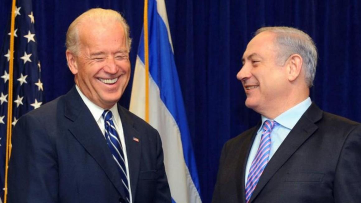 Biden e Netanyahu in un'immagine di repertorio