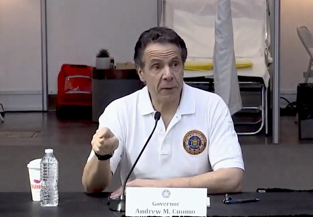 Andrew Cuomo, il governatore di New York
