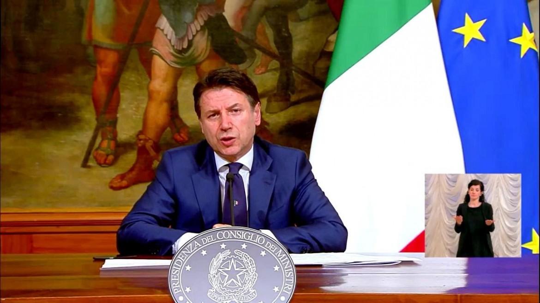La conferenza stampa di Giuseppe Conte