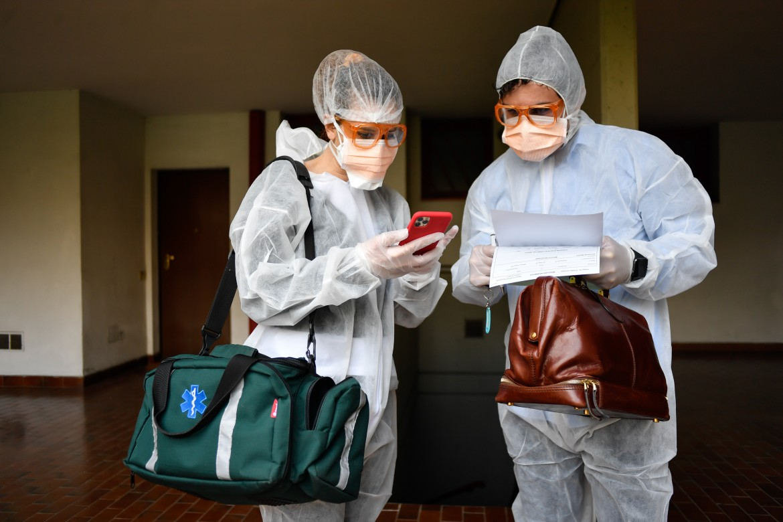Operatori sanitari.