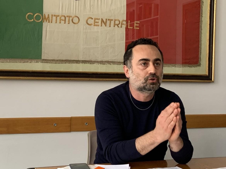 Il segretario Fiom Michele De Palma