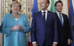 Merkel Macron la sovranit europea e lItalia assente