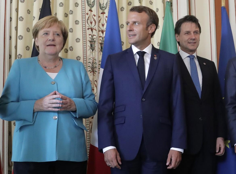 Merkel, Macron e Conte