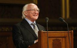 Higgins il presidente d8217Irlanda LEuropa torni solidale