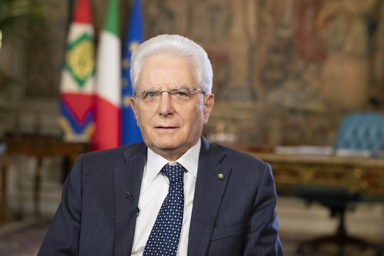 Roma. Il presidente della Repubblica Sergio Mattarella