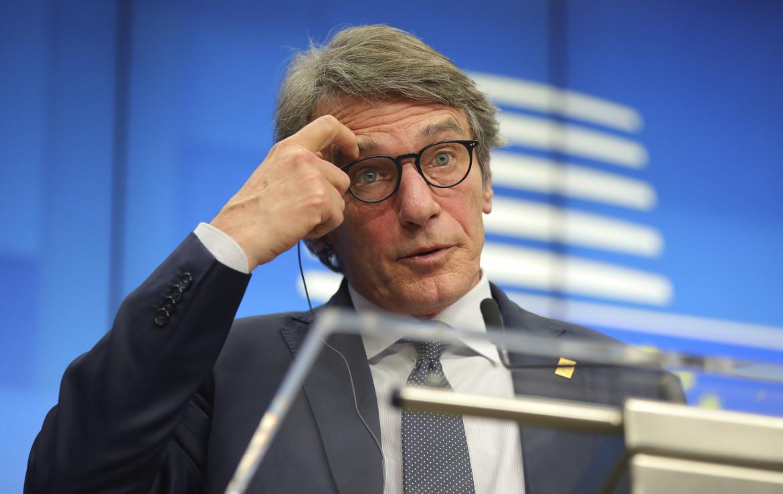 Il presidente del parlamento europeo, David Sassoli
