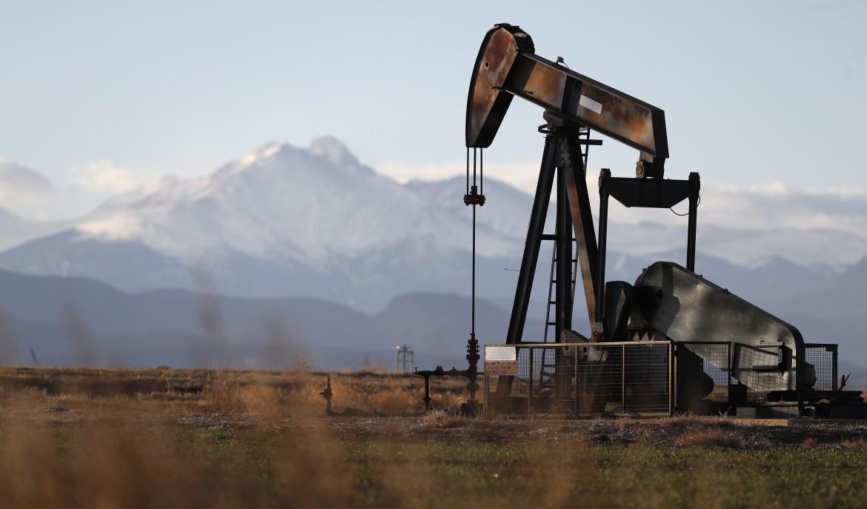 Un pozzo di petrolio negli Stati uniti