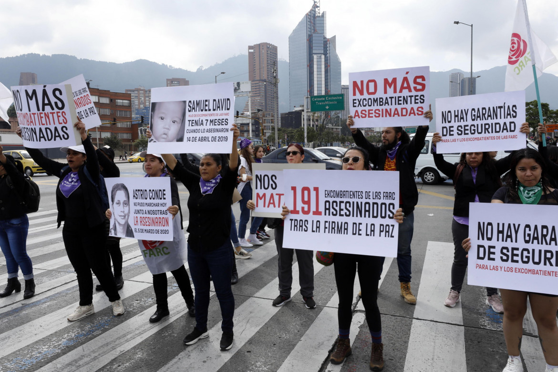 Proteste in Colombia contro la violenza delle forze dell'ordine