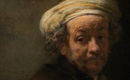Rembrandt Autoritratto come san Paolo part 1661 Amsterdam Rijksmuseum
