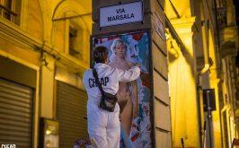La liberazione dei corpi e dellimmaginario sulle mura urbane