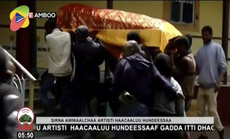 I funerali di Hachalu Hundessa