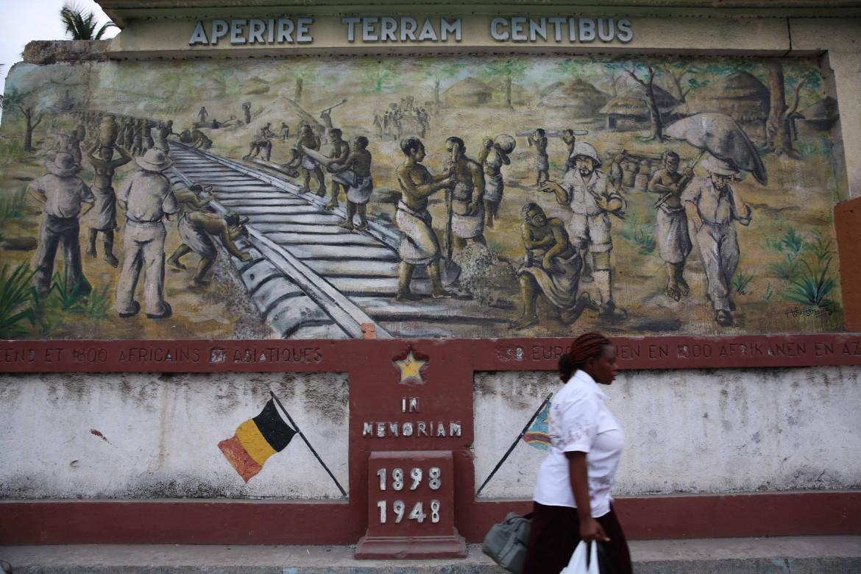 La stazione dei treni di Kinshasa (Congo)