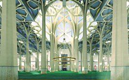 Paolo Portoghesi interno moschea Roma 1974
